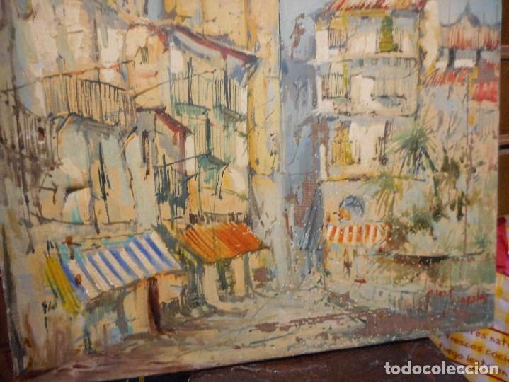 Arte: oleo posible pintor sevillano domingo fernandez gonzalez 1862 1918, firmado fdez gonzalez - Foto 4 - 111032163