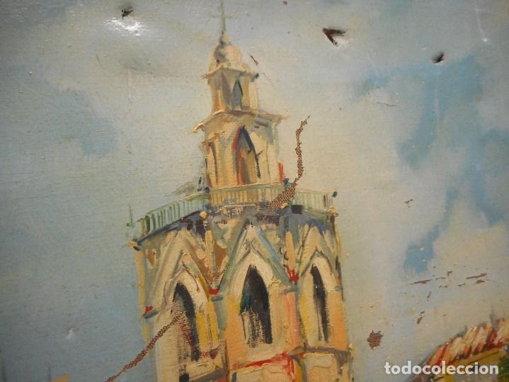 Arte: oleo posible pintor sevillano domingo fernandez gonzalez 1862 1918, firmado fdez gonzalez - Foto 5 - 111032163