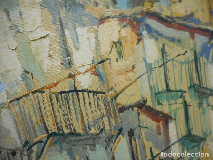 Arte: oleo posible pintor sevillano domingo fernandez gonzalez 1862 1918, firmado fdez gonzalez - Foto 6 - 111032163