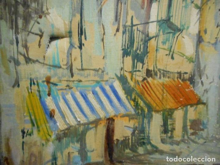 Arte: oleo posible pintor sevillano domingo fernandez gonzalez 1862 1918, firmado fdez gonzalez - Foto 7 - 111032163