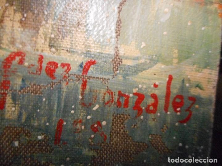 Arte: oleo posible pintor sevillano domingo fernandez gonzalez 1862 1918, firmado fdez gonzalez - Foto 10 - 111032163