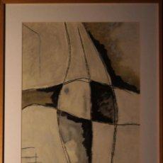Arte: JOSE MANUEL CIRIA-TECNICA MIXTA OLEO-PAPEL-OBRA ORIGINAL. Lote 111057375