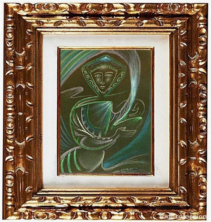 JOAN BROTAT VILANOVA - FIGURE FANTASTIC, TÉCNICA MIXTA (Arte - Pintura - Pintura al Óleo Contemporánea )