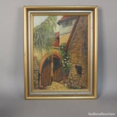 Arte - Pintura antigua al óleo sobre lienzo, con su marco original. Alemania 1920 - 1930 - 111158795