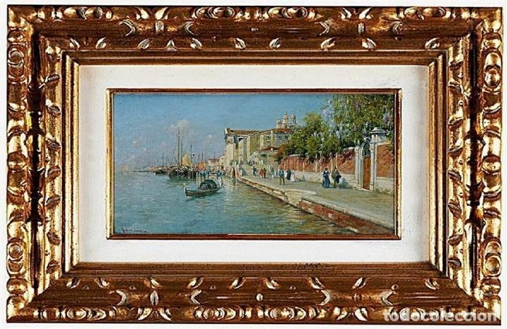 RAFAEL SENET Y PÉREZ - GRAN CANAL DE VENECIA, ÓLEO SOBRE LIENZO (Arte - Pintura - Pintura al Óleo Contemporánea )