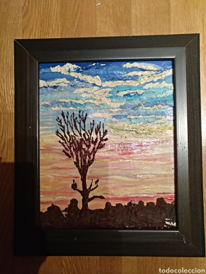oleo/oleo pintado sobre lienzo. conjunto de dos - Comprar Pintura al ...