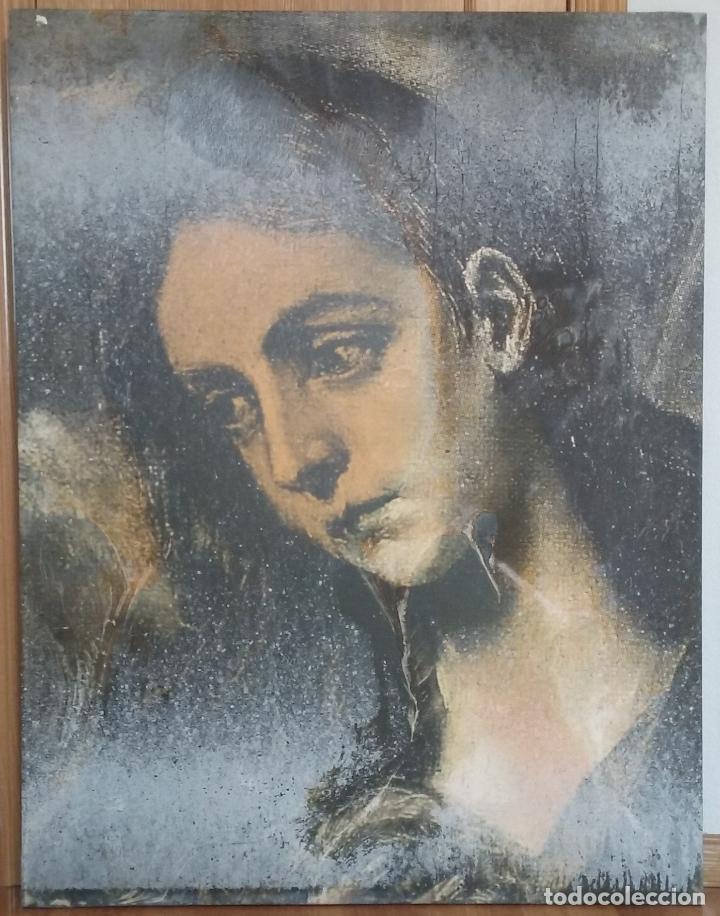 DARIO VILLALBA ''D'APRES EL GRECO'' ÓLEO - BARNIZ SOBRE LIENZO ORIGINAL 1.995 (Arte - Pintura - Pintura al Óleo Contemporánea )