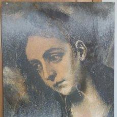 Arte: DARIO VILLALBA ''D'APRES EL GRECO'' ÓLEO - BARNIZ SOBRE LIENZO ORIGINAL 1.995. Lote 111489939