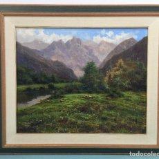 Kunst - RICARDO SOLÉ GONZALEZ BONITO OLEO SOBRE LIENZO BIEN ENMARCADO - 111671803