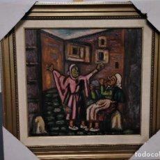 Arte: PINTOR ANTONIO PAN LOTE DE DOS CUADROS . Lote 111765171