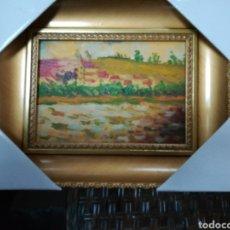 Arte: ÓLEO ENMARCADO PAISAJE 25.5 X 20.5. Lote 111803130
