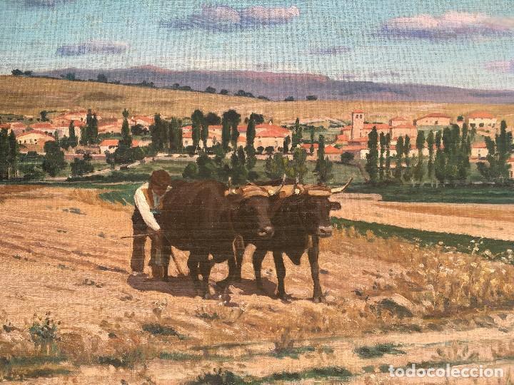 Arte: Victoriano de Vicente Gil (1866-1939) Pintor Venezolano - Óleo sobre tela pegado a cartón - Foto 2 - 111879303