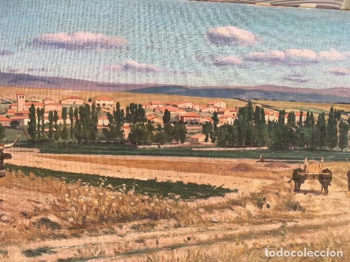 Arte: Victoriano de Vicente Gil (1866-1939) Pintor Venezolano - Óleo sobre tela pegado a cartón - Foto 3 - 111879303