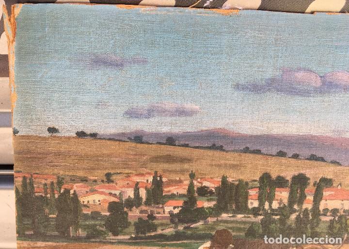 Arte: Victoriano de Vicente Gil (1866-1939) Pintor Venezolano - Óleo sobre tela pegado a cartón - Foto 4 - 111879303