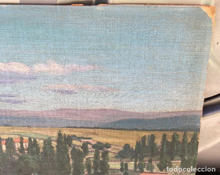Arte: Victoriano de Vicente Gil (1866-1939) Pintor Venezolano - Óleo sobre tela pegado a cartón - Foto 6 - 111879303