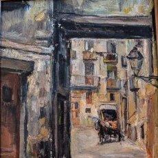 Arte: PLAZA FOSSAR DE LES MORERES. BARCELONA. Lote 111613643