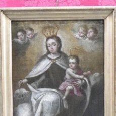 Virgen del Carmen siglo XVIII