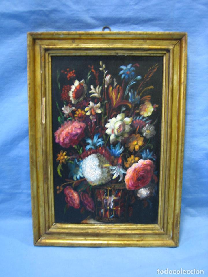 antigua pintura al óleo sobre tabla con motivo - Comprar Pintura al ...