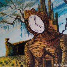Arte: COPIA DE DALI,PINTURA SOBRE TELA.. Lote 113856831