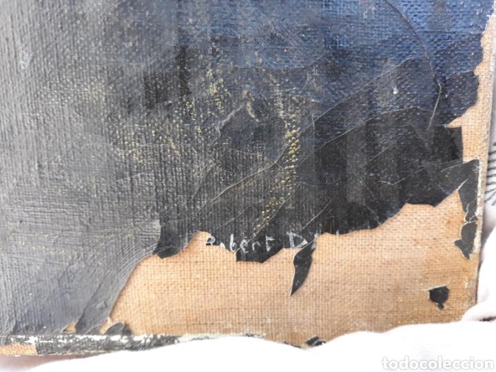 Arte: Óleo Herreros hombres trabajando hierro - Foto 4 - 112104338
