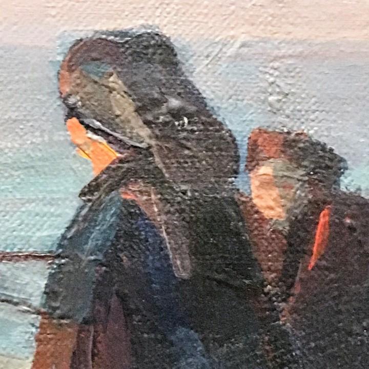 Arte: Pescadores por Luis Montalbán Garrido (Granada 1930 - Guetxo 2014) - Foto 11 - 112127479