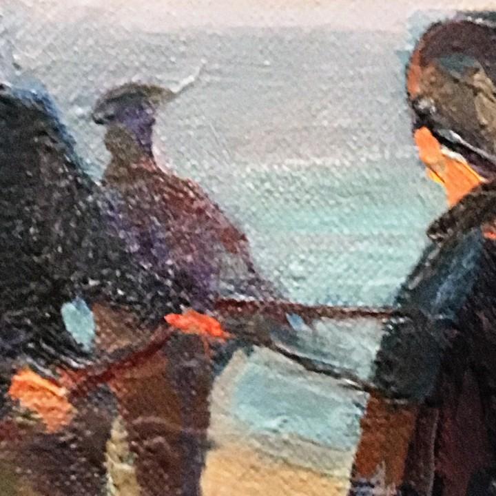 Arte: Pescadores por Luis Montalbán Garrido (Granada 1930 - Guetxo 2014) - Foto 12 - 112127479