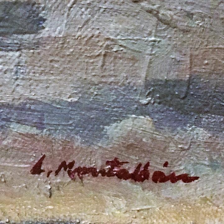 Arte: Pescadores por Luis Montalbán Garrido (Granada 1930 - Guetxo 2014) - Foto 13 - 112127479