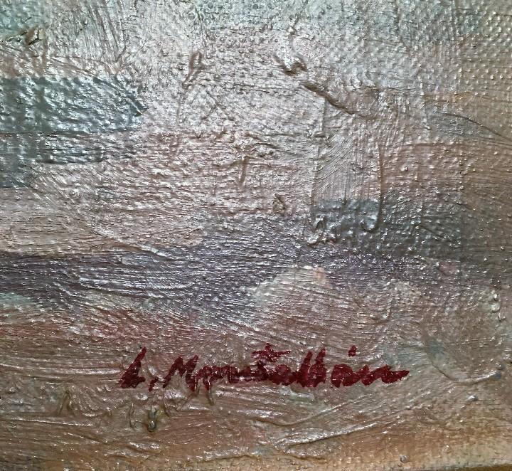 Arte: Pescadores por Luis Montalbán Garrido (Granada 1930 - Guetxo 2014) - Foto 15 - 112127479
