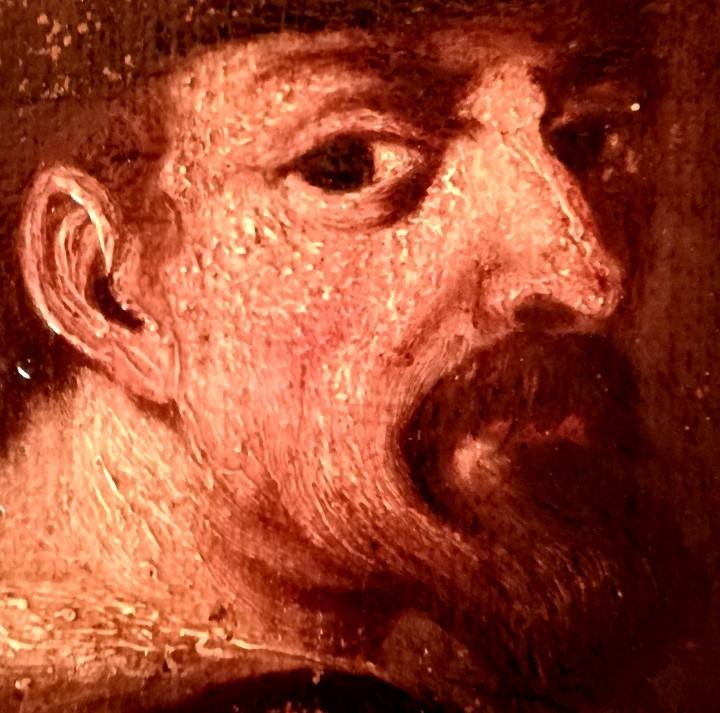 PINTURA,SIGLO XVIII,POSIBLE RETRATO MIGUEL DE CERVANTES DE JOVEN,AUTOR DE DON QUIJOTE DE LA MANCHA (Arte - Pintura - Pintura al Óleo Antigua siglo XVIII)