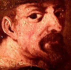Arte: PINTURA,SIGLO XVIII,POSIBLE RETRATO MIGUEL DE CERVANTES DE JOVEN,AUTOR DE DON QUIJOTE DE LA MANCHA. Lote 97821879