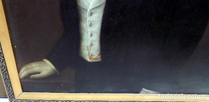 Arte: oleo y nombramiento de la orden de carlos III, villarrobledo ,albacete, 1855, epoca isabel II - Foto 2 - 112250867