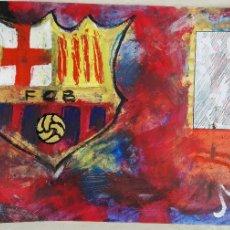 Arte: ANTONI MARTÍ (SEUDONIMO) CASSERRES, 1960 COLLAGE SOBRE CARTÓN - MEDIDAS: 42 X 30 - CERTIFICADO. Lote 112323987