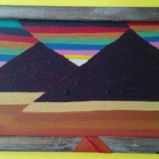 Arte: ANTONI MARTÍ (SEUDONIMO) CASSERRES, 1960 OLEO SOBRECARTON ENTELADOENMARCADO27X17. Lote 112325674