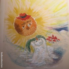 Arte: ROSER ODUBER MUNTAÑOLA (1957), OBRA ORIGINAL 45X50CMS, TÉCNICA MIXTA. Lote 112351811
