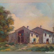 Arte - CUADRO AL OLEO SOBRE TABLEX, ESTILO RUSTICO. - 112423843