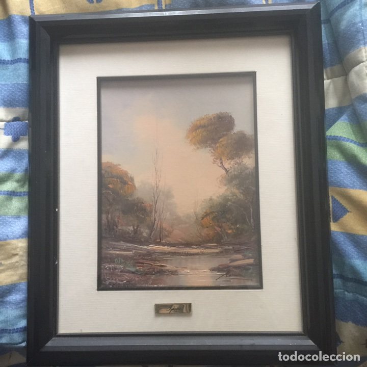 Arte: Pintura al óleo de paisaje - Foto 3 - 112428970