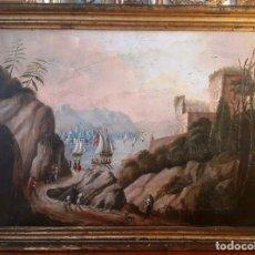 Arte: OLEO SOBRE LIENZO SIGLO XVIII XIX. Lote 112438115