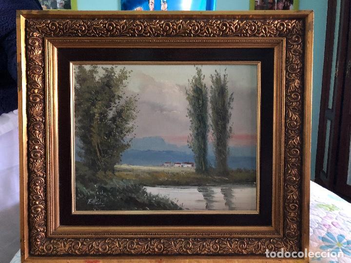 pintura óleo escucho ofertas, marcos incluidos - Comprar Pintura al ...