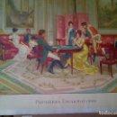 Arte: GRABADO ANTIGUO A COLOR,DE LUCIUS ROSSI. Lote 112518679