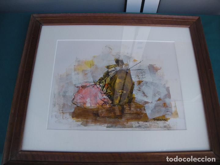CUADRO SANCHEZ BORREGUERO PINTOR MURCIA (Arte - Pintura - Pintura al Óleo Contemporánea )