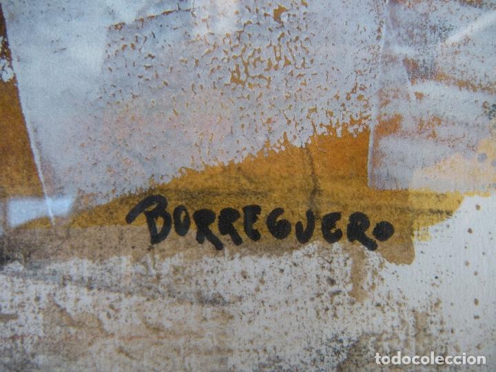 Arte: CUADRO SANCHEZ BORREGUERO PINTOR MURCIA - Foto 3 - 112579631