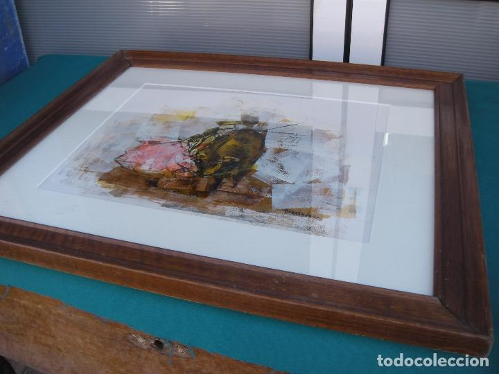 Arte: CUADRO SANCHEZ BORREGUERO PINTOR MURCIA - Foto 5 - 112579631
