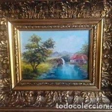 Arte: ÓLEO SOBRE TABLA JUAN VIÑAS. Lote 112723995