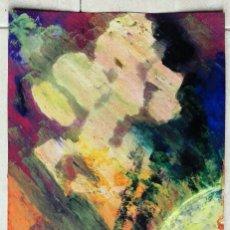 Arte: ANTONI MARTÍ (SEUDONIMO) - OLEO SOBRE PAPEL 50 X 22. Lote 112855899