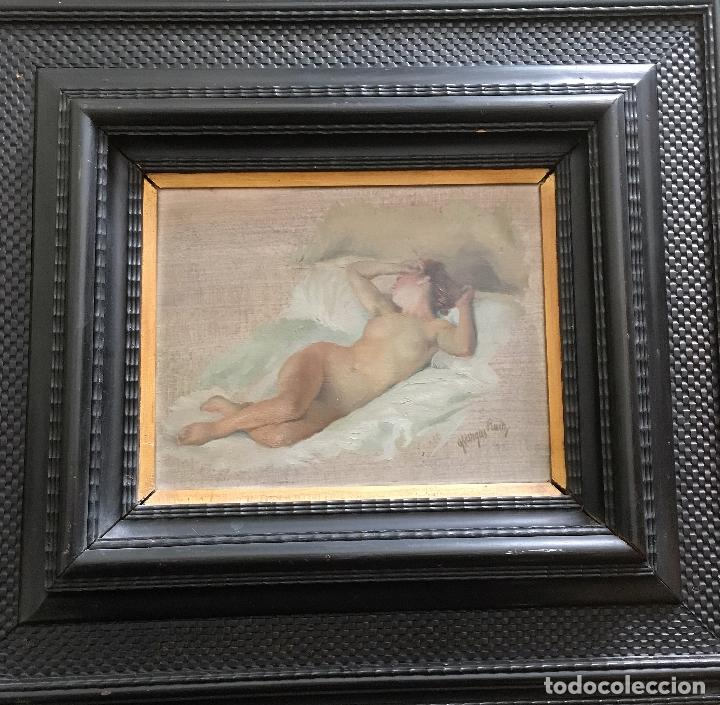 Arte: Desnudo femenino por Guillermo Vargas Ruíz (Bolullos de la Mitación, Sevilla 1910- Madrid 1990) - Foto 2 - 112884815