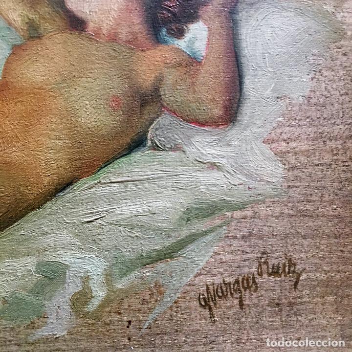 Arte: Desnudo femenino por Guillermo Vargas Ruíz (Bolullos de la Mitación, Sevilla 1910- Madrid 1990) - Foto 5 - 112884815
