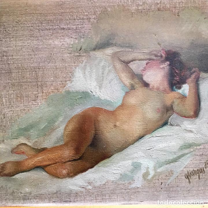 Arte: Desnudo femenino por Guillermo Vargas Ruíz (Bolullos de la Mitación, Sevilla 1910- Madrid 1990) - Foto 6 - 112884815