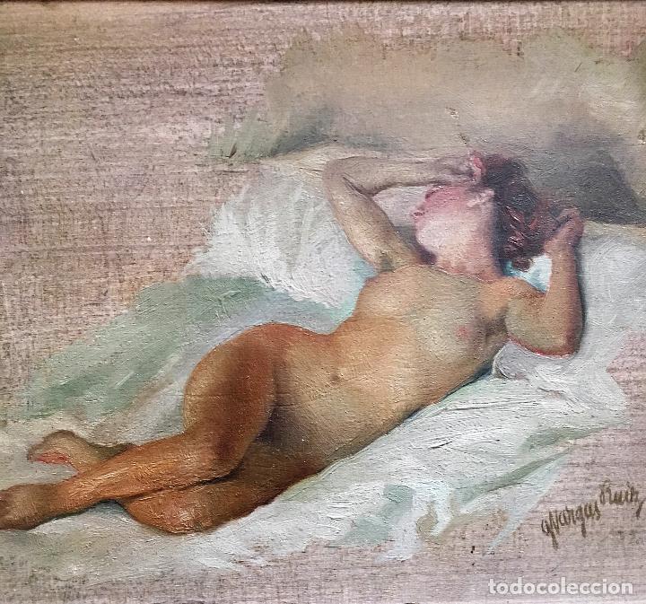 Arte: Desnudo femenino por Guillermo Vargas Ruíz (Bolullos de la Mitación, Sevilla 1910- Madrid 1990) - Foto 7 - 112884815