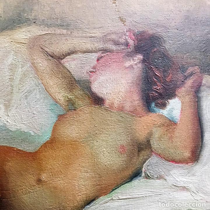 Arte: Desnudo femenino por Guillermo Vargas Ruíz (Bolullos de la Mitación, Sevilla 1910- Madrid 1990) - Foto 8 - 112884815
