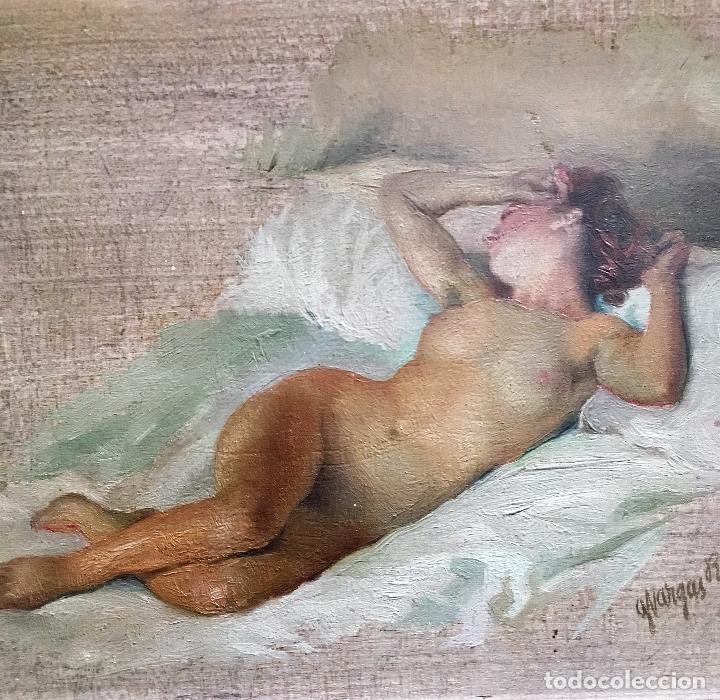 Arte: Desnudo femenino por Guillermo Vargas Ruíz (Bolullos de la Mitación, Sevilla 1910- Madrid 1990) - Foto 9 - 112884815